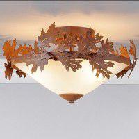 Wisley Oak Leaf Ceiling Light