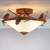 Wisley Pine Cone Ceiling Light