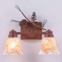 Parkshire Pinecone Vanity Lights