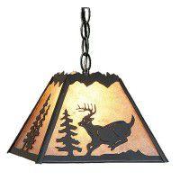 Rocky Mountain Deer Pendant Lights