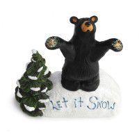 Let it Snow Figurine