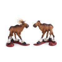Romeo & Juliet Moose Figurine