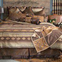 Brown Mustang Comforter Sets