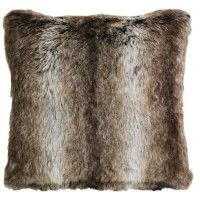 Chinchilla Faux Fur Pillow