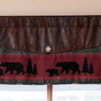 Takoma Bear & Moose Valance