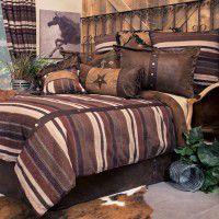 Old West Stripe Comforter Sets
