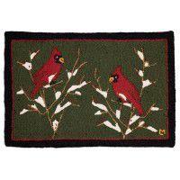 Cardinal Hooked Wool Rug