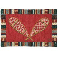 Snowshoes Accent Rug