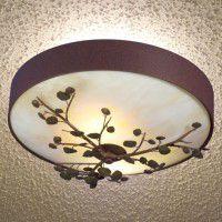 Aspen Leaves Ceiling Light