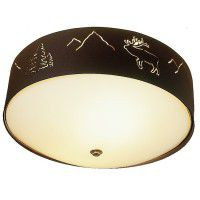 Wildlife Flush Mount Ceiling Light