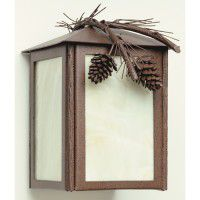 Pinecone Branch Sconce