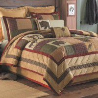 Cabin Bedding - Rustic Bedding - Lodge Quilts - The Cabin Shop ... : deer quilts - Adamdwight.com