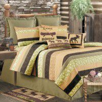 Cabin Nights Twin Quilt Set-CLEARANCE