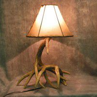 Woodland 2 Antler Table Lamp