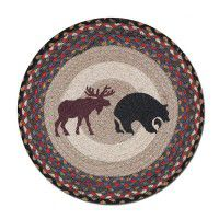 Moose and Bear Chair Pads - Set of 4