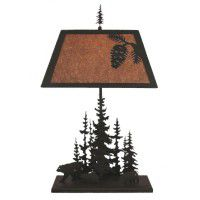 Evergreen Bear Table Lamp