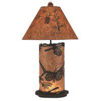 Ponderosa Pine Cone Table Lamp