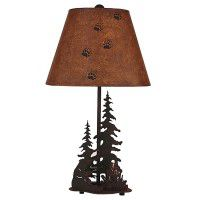 Campfire Bear Table Lamp