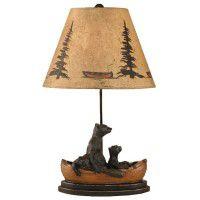 Bear Family Table Lamp