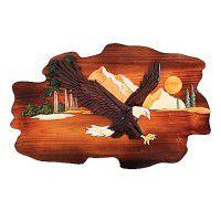 Eagle Mountain Wood Wall Art