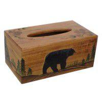 Black Bear Tissue Box Cover
