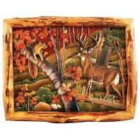Forest Friends Wood Wall Art