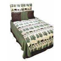 Pearl Bear Fleece Bedding
