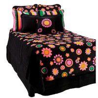 Flower Power Fleece Bedding