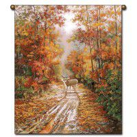 Autumn Song Deer Wall Hanging