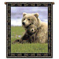 Boyd Norton Bear Wall Hanging