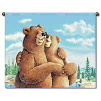 Bear Hugs Wall Hanging