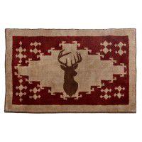 Deer kitchen and bath rug
