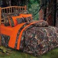 Oak Camo Comforter Sets