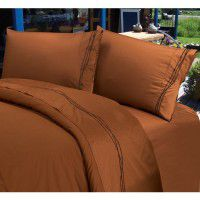 Copper Embroidered Barbwire Sheets
