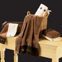 Texas Star Towel SetCabin Bath Accessories   Rustic Bathroom Decor   Texas Star decor. Rustic Star Bathroom Decor. Home Design Ideas