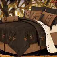 Laredo Western Star Bedding - Chocolate
