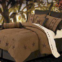 Laredo Western Star Bedding - Tan