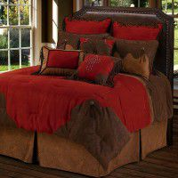 Red Rodeo Comforter Sets