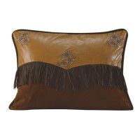 Floral Embroidered Envelope Pillow