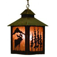 Moose Lantern Pendant Light