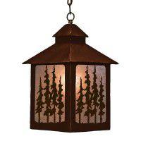Pine Trees Lantern Pendant Light