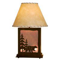 Scenic Bear Table Lamp