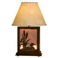 Scenic Loon Table Lamp