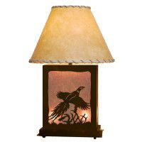 Scenic Pheasant Table Lamp