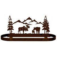 Moose Family Pot Rack