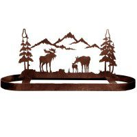 Moose Family Pot Rack