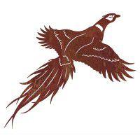 Pheasant Metal Wall Art