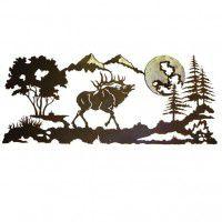 Elk Mountain Wall Art