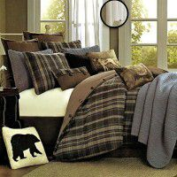 Hadley Plaid Comforter Set-Twin-CLEARANCE