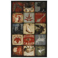 Lodge Patches Area Rugs